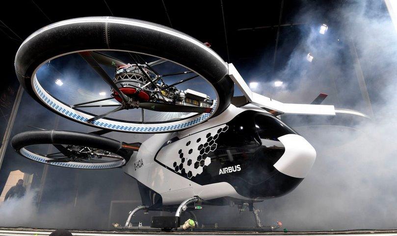 Летающая машина Airbus