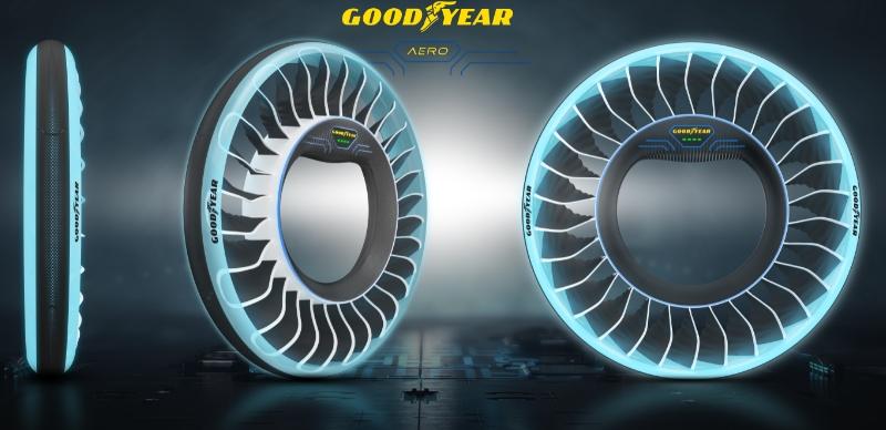 Goodyear AERO – шины для летающих автомобилей