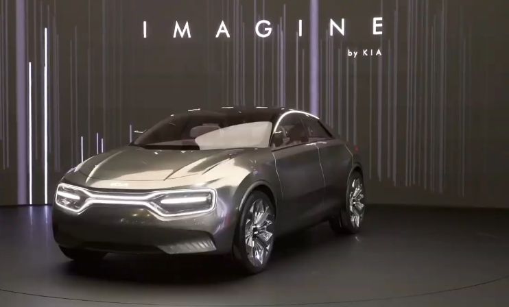 Электромобиль Imagine by Kia