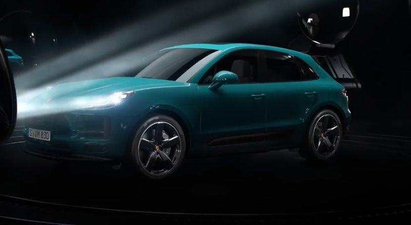 Электромобиль Porsche E-Macan