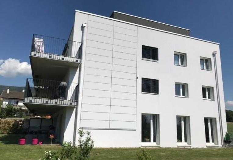 Белые солнечные батареи для фасада