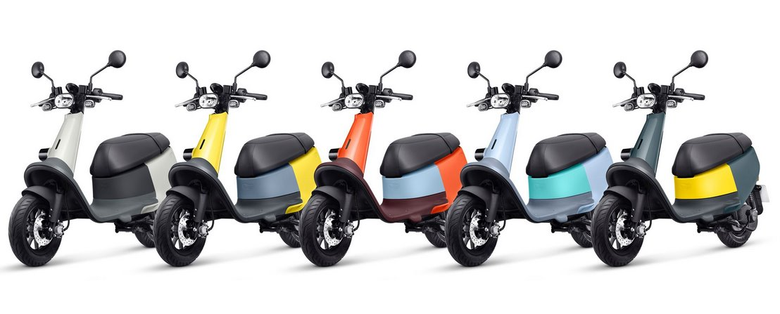Gogoro выводит свои электроскутеры на мировой рынок