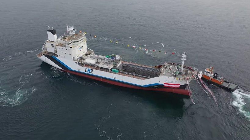 Водородный танкер