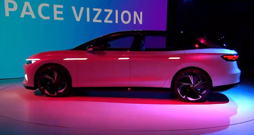 Электромобиль VW ID Space Vizzion