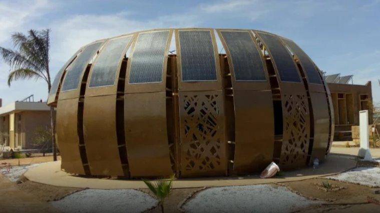 Экодом на солнечных батареях