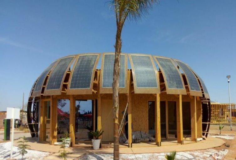 Дом из конопли