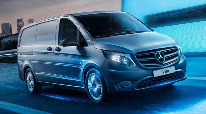 Электрический фургон Mercedes eVito 2021 обновился цены и комплектации модели