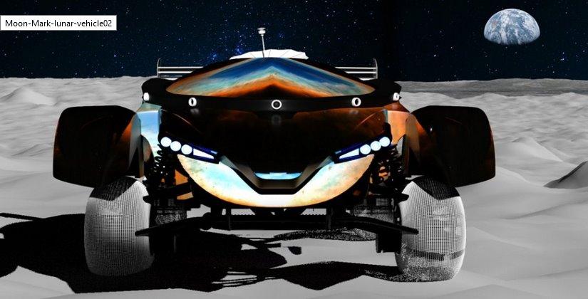 Лунный электромобиль