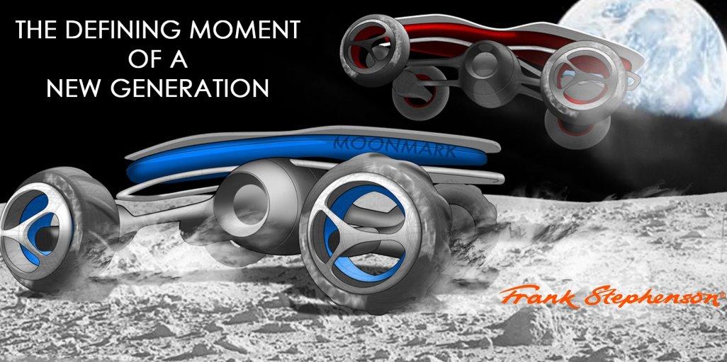 На Луне в 2021 году проведут гонку на электромобилях