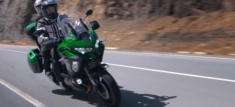 Новый мотоцикл Кавасаки