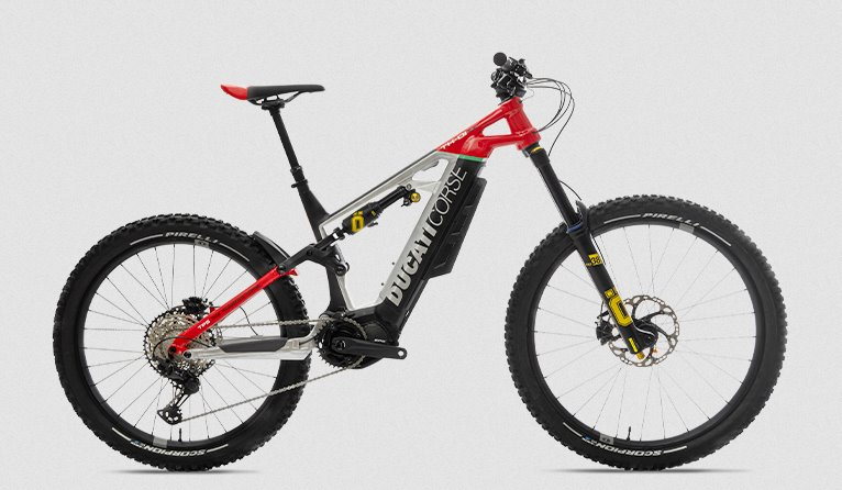 Электрический велосипед Дукати