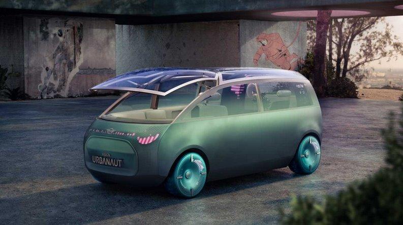 Mini представила беспилотный электроминивен Vision Urbanaut