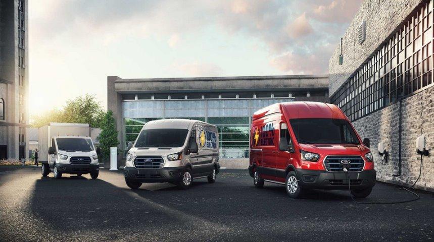 Электрический фургон Ford E-Transit выходит в серию характеристики, цена, видео