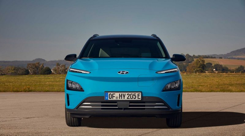 Электромобиль Hyundai Kona 2021