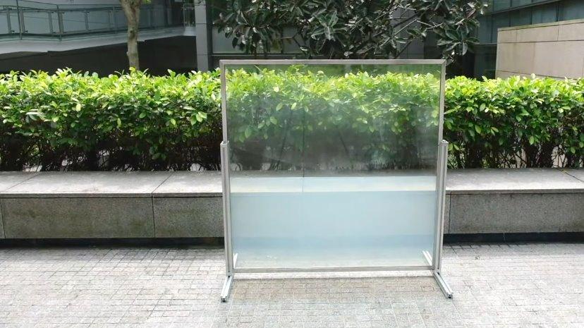 Умное стекло, наполненное жидкостью, сэкономит до 45 на отоплении и кондиционировании