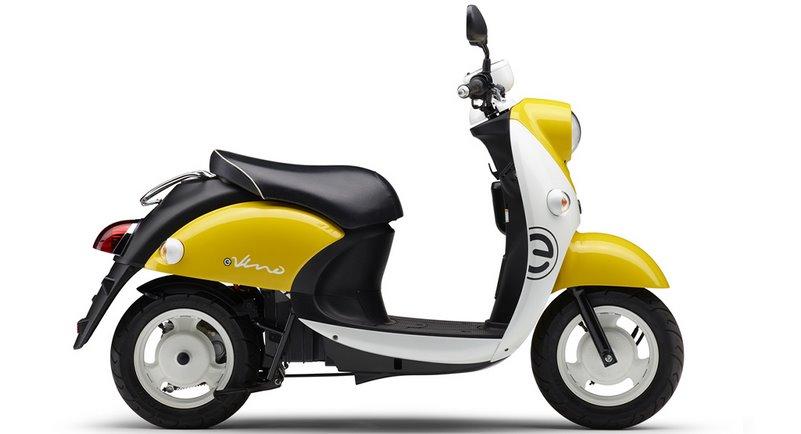 Скутер на электротяге Ямаха