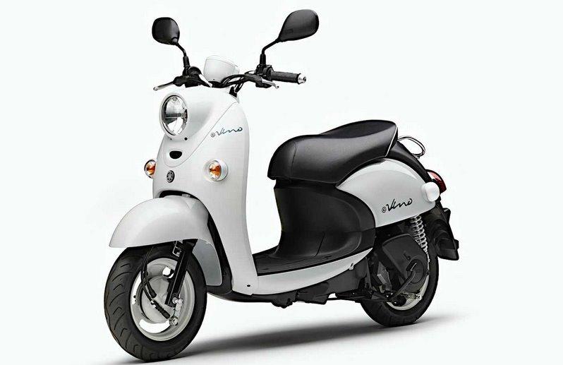 Новый электроскутер Yamaha