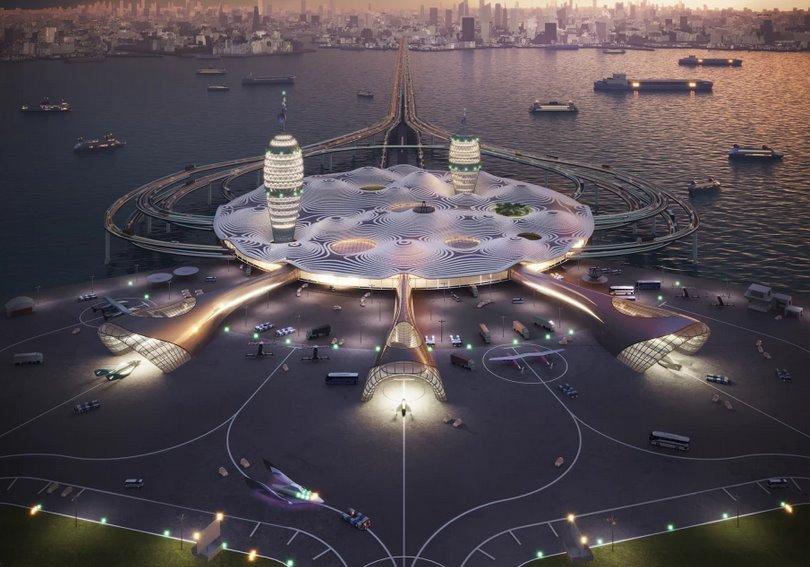 Крупнейший туристический плавучий космопорт хотят создать в Японии