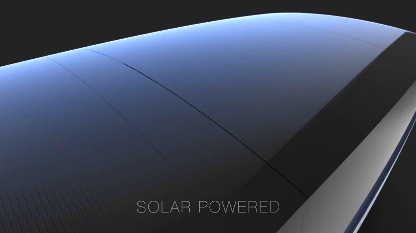 Солнечная крыша для электромобиля
