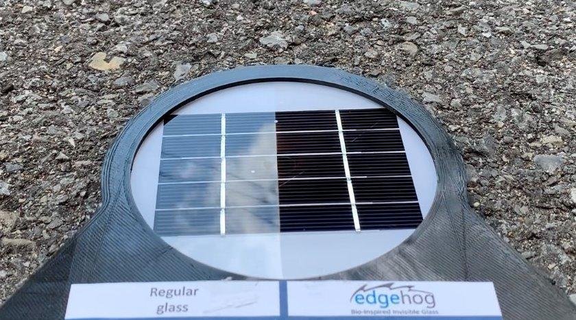 Новое антибликовое стекло для солнечных батарей увеличит их производительность на 12