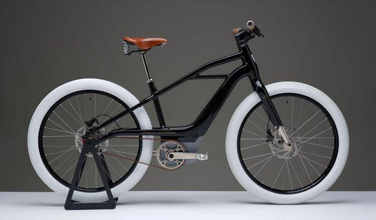 Электровелосипед Харлей девидсон