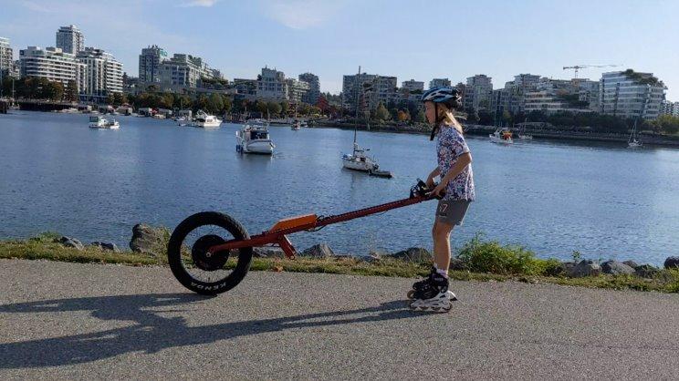 Моноколесо для езды на скейтборде