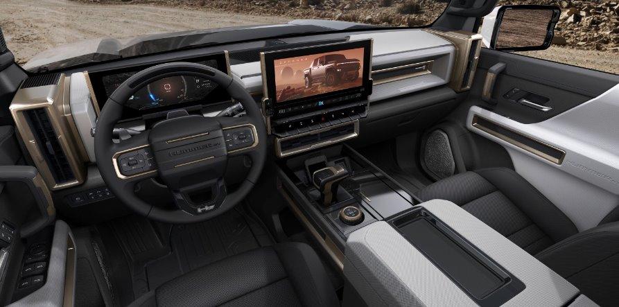 Электропикап GMC Hummer EV