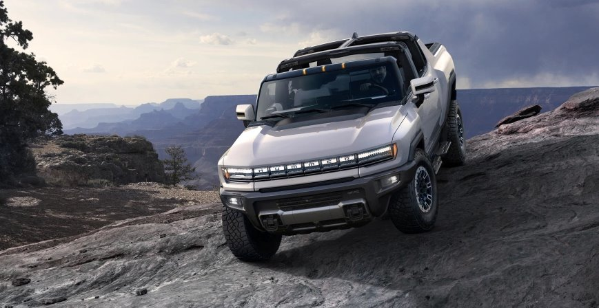 Электромобиль GMC Hummer EV
