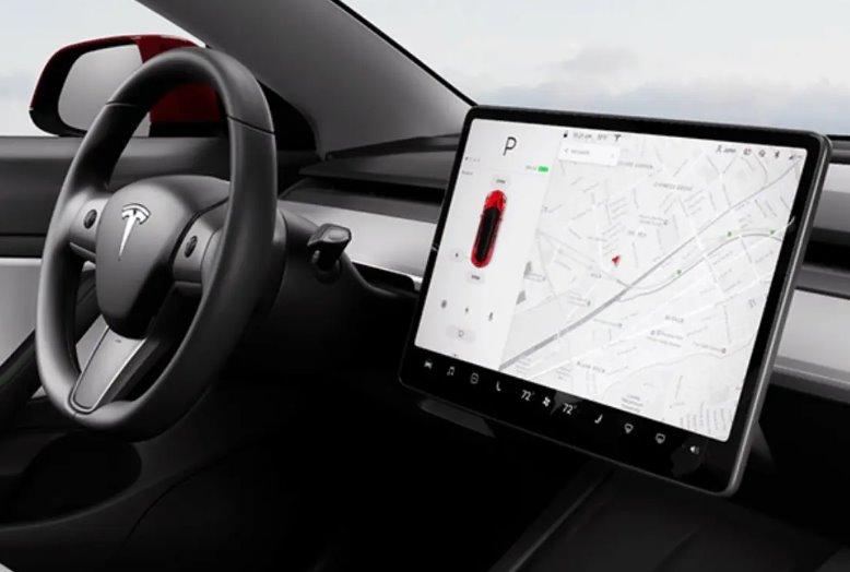Электромобиль Tesla Model 3 2021