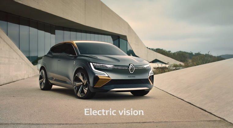 Электромобили Dacia Spring Electric и Megane eVision представлены Renault (видео)