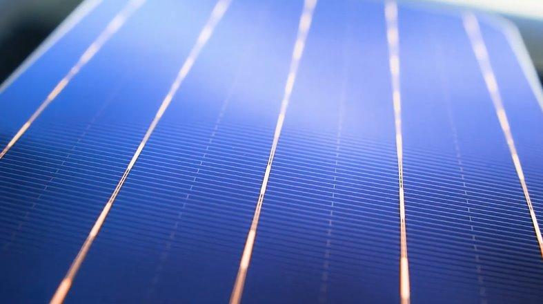 Высокоэффективная кремниевая солнечная панель