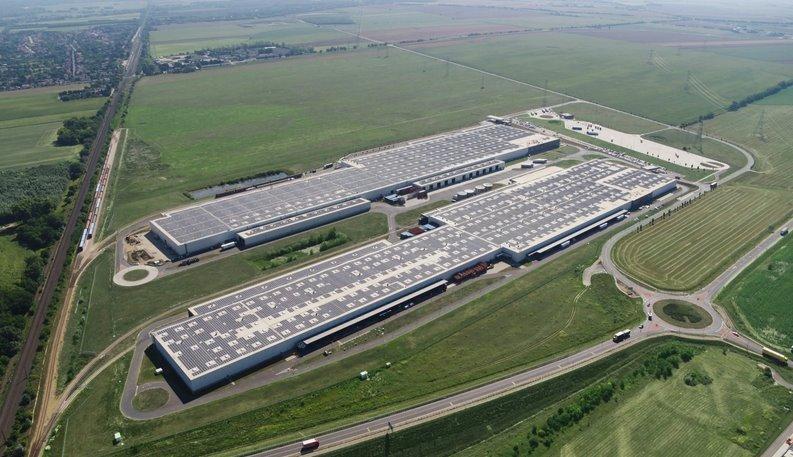 Самая большая крышная СЭС в Европе