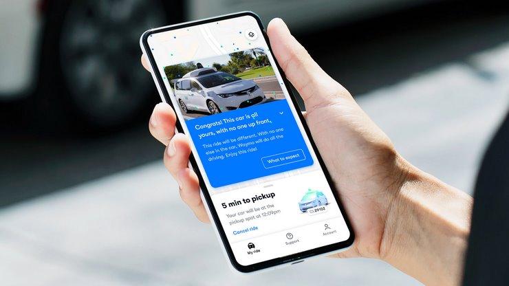 Поездки на беспилотных такси Waymo One теперь доступны всем жителям города Финикс