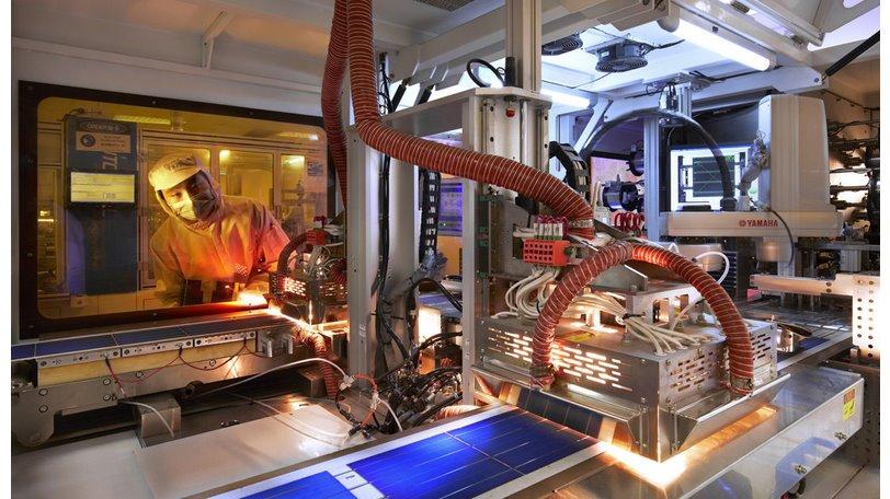 Производство солнечных панелей мощностью 550 Вт запустила Trina Solar