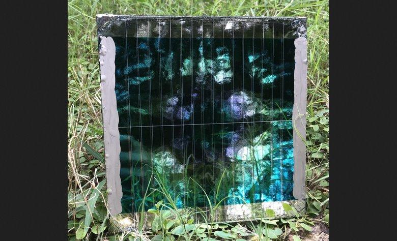 Солнечная панель на бумаге