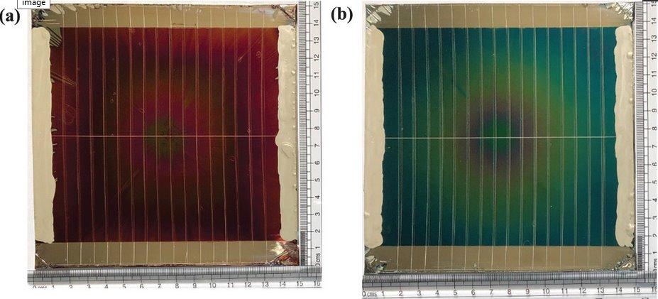 Бумажные солнечные модули