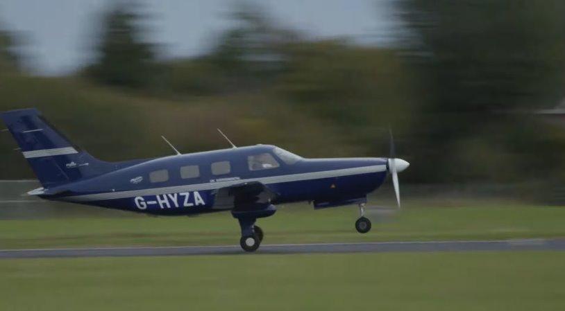 ZeroAvia полет самого большого в мире самолета на водороде - это только начало