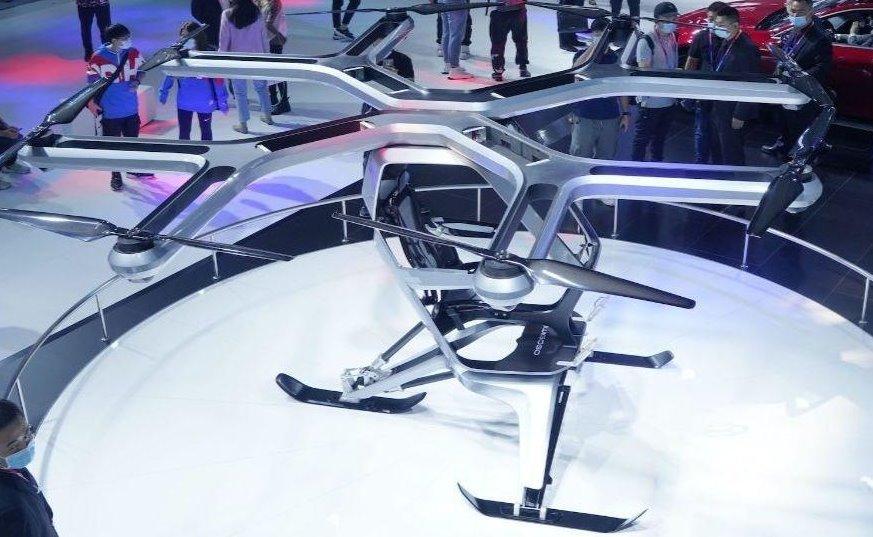 Электрическое аэротакси Xpeng