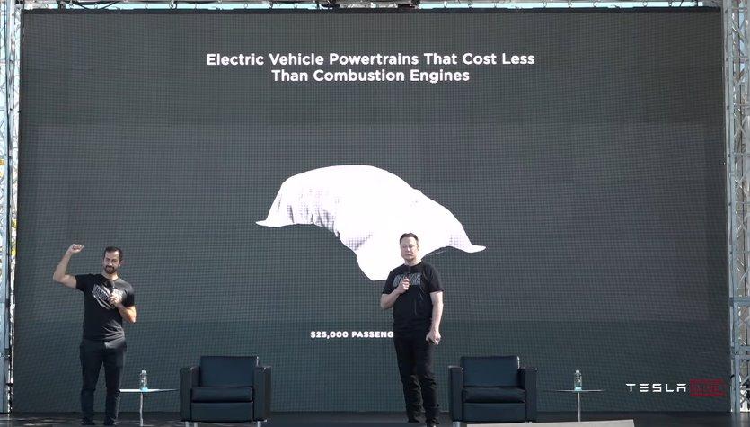 Tesla выпустит электромобиль за 25000 до 2024 года