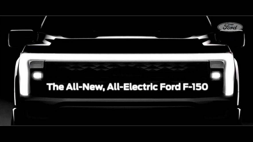 Электромобиль Ford F-150