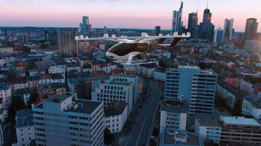 Volocopter полет на электрическом аэротакси уже можно забронировать