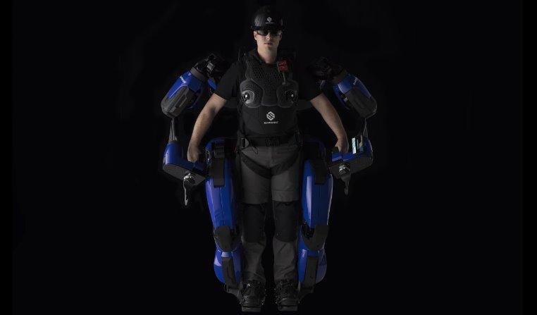 Sarcos Robotics запускает свой экзоскелет в серию