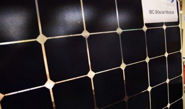 Двухсторонний солнечный модуль IBC