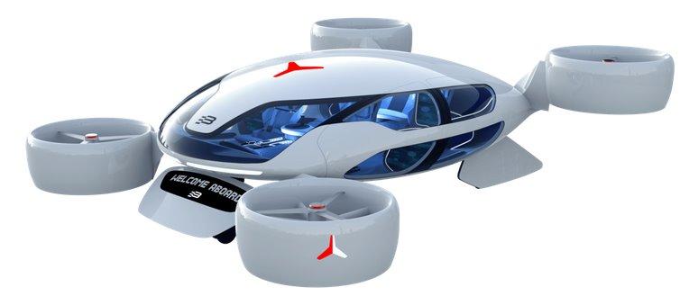 Водородные топливные элементы с турбонаддувом от HyPoint обеспечат аэротакси дальность полета 650 км