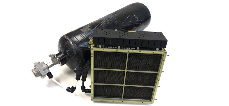 Водородные топливные ячейки для летательных аппаратов