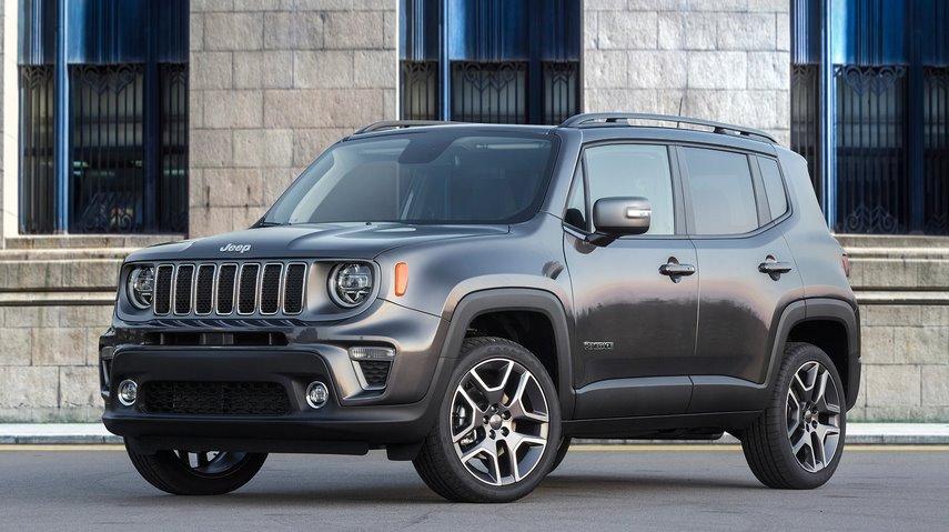 Гибридный внедорожник Jeep Renegade