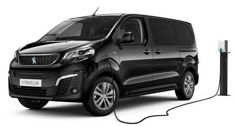 Электрический минивен e-Traveller Peugeot выходит на рынок