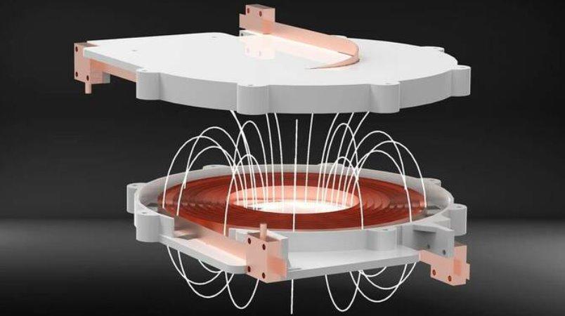 Инновационная индукционная катушка на сверхпроводниках