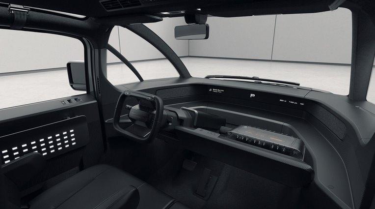 Интерьер электромобиля Canoo