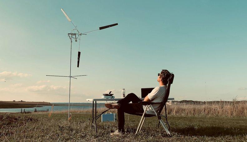 Легкий мобильный ветрогенератор